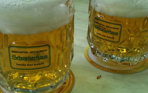 Schweizerhaus Bier