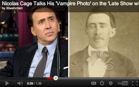 Nicolas Cage Vampir